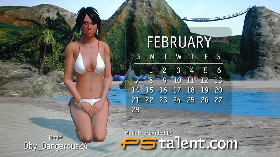 MISS FEBRUARY
