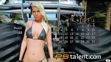 2010 Bikini Calendar