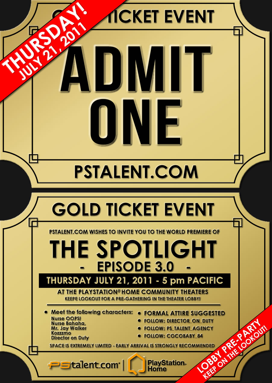 Gold Ticket Event