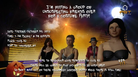 PST Halloween Party!
