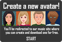 Create your own avatar on pstunes