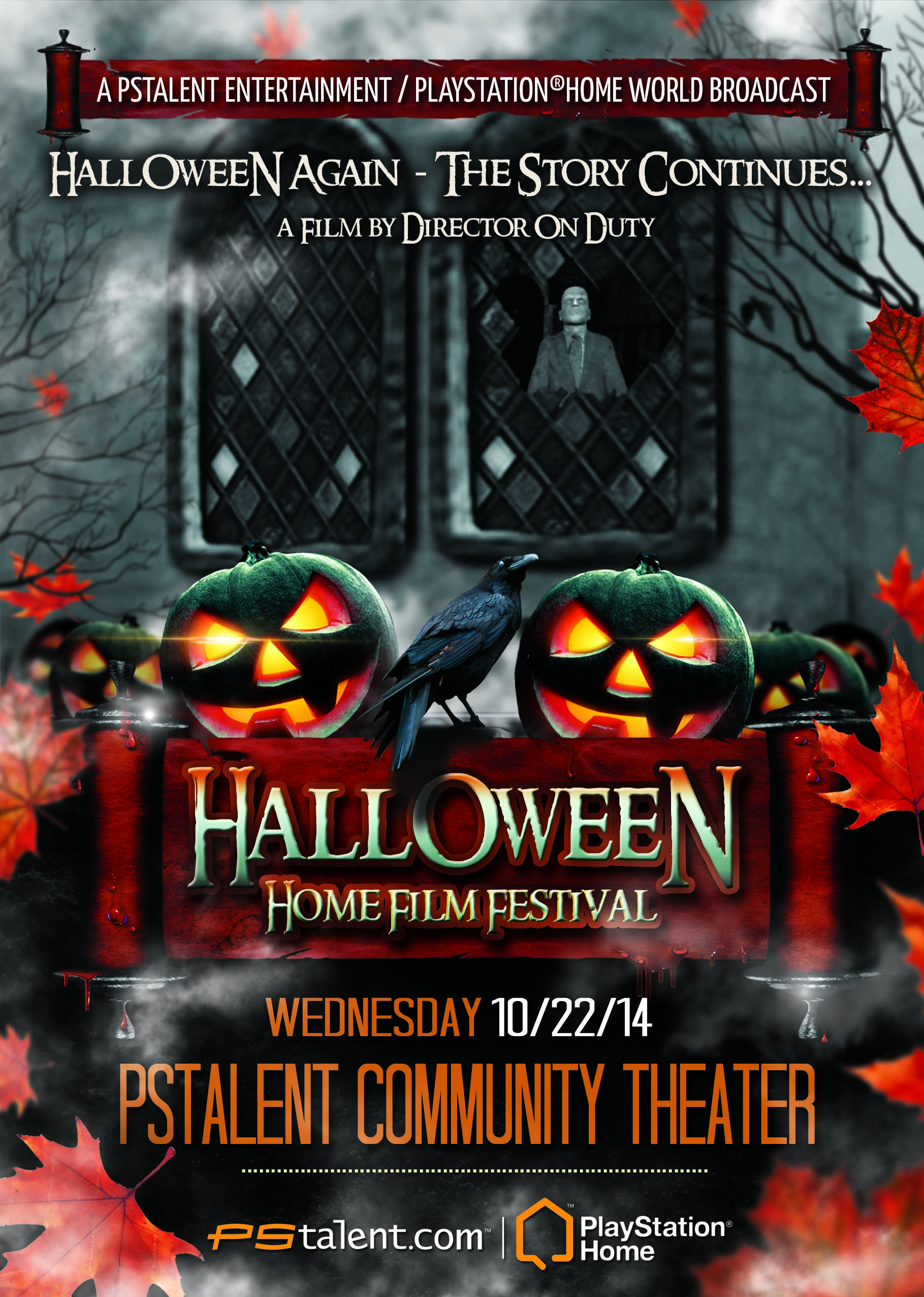 PlayStation Halloween Film Festival
