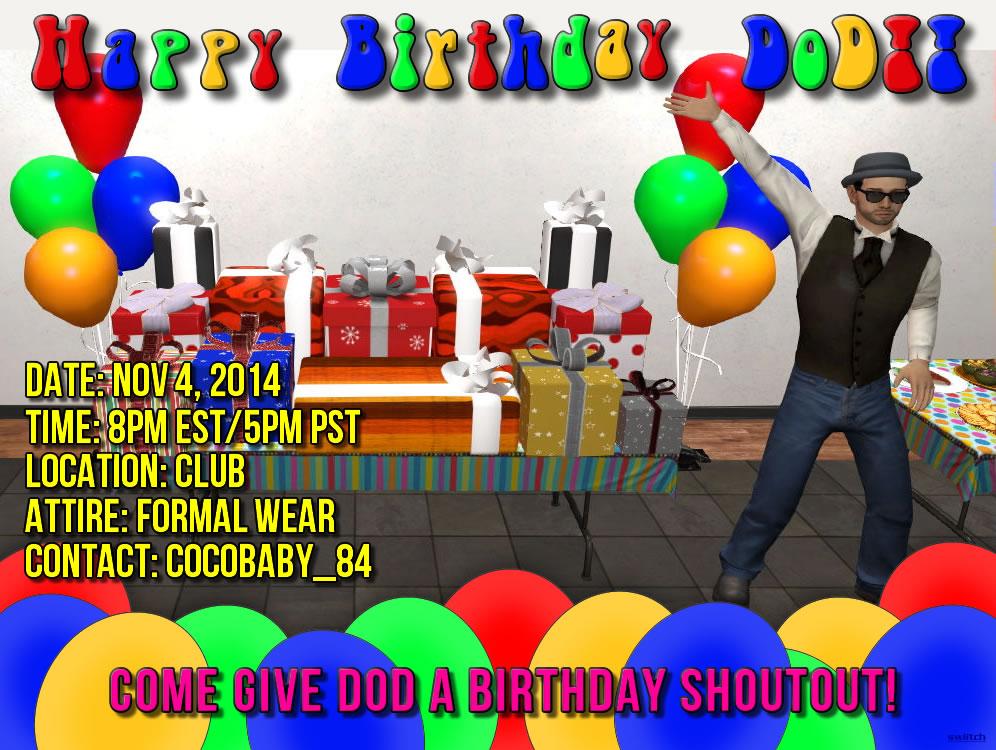 DOD Birthday Bash
