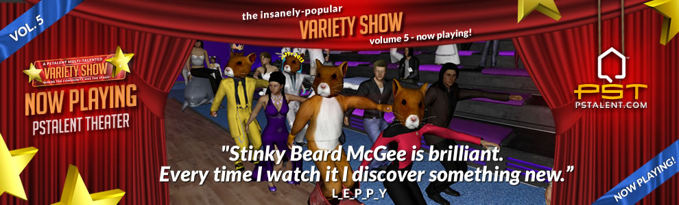 pstalent.com variety show playstation Home